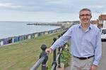 Haydon at Herne Bay seafront